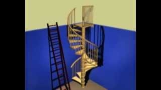 Spiral Stair kit install guide ��������� ��������� �����