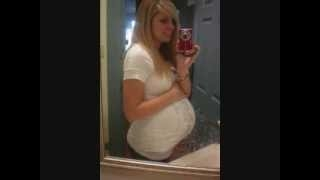 Watch My Belly Grow! (5-36 Weeks Pregnant & Few Postpartum) VEDA Day 25