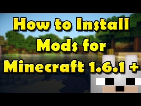 SCMowns - How to install Mods for Minecraft 1.6.1 -Modloader (Windows) (Mac Text/Video Below!) відео про майкрафт 1.6.1