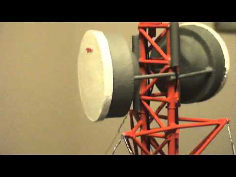 клеточное питание Model Scale Cellular & Microwave Repeater Tower