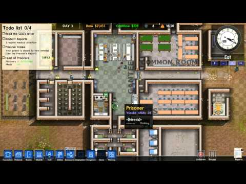 клеточное питание Prison Architect - 02 (Cellular Mitosis, Over Expansion)